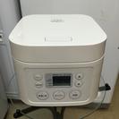 A-457 無印☆2012年製 マイコン式 3合炊飯器