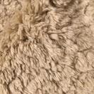 引取限定■無印良品■羊の毛タッチラグ■200cmX200cm