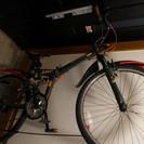 折りたたみ式マウンテンバイク26インチ
