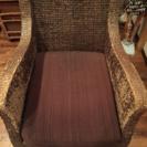 タイ製椅子アームレスト2脚