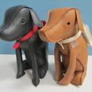 【Rosier】犬◆ペア◆ぬいぐるみ◆置物◆ドッグ◆2個セット◆ロジエ