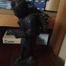 【値下げ】二宮金次郎の銅像