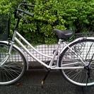 【交渉中】自転車 26インチ シルバー