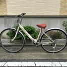 中古自転車 27インチ オートライト 6変速付き