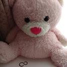 ☆テディベア☆ふわふわ可愛いクマ ぬいぐるみ ピンク