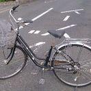 ごく普通の自転車