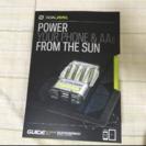 ソーラースマホ充電器