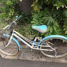 22インチ子供用自転車(女の子)を譲ります