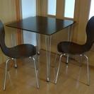 テーブル 椅子 セット ブラウン ...