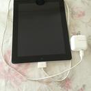 iPad2 wifi 32GB 黒 難ありですが