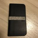 iPhone6 6s カバー 本革&スワロフスキー