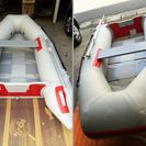 パワーボート アキレス ホンダ2馬力船外機付き ゴムボート