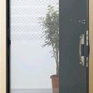 玄関に張る網戸