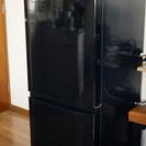 冷蔵庫 146 L  三菱製 MR-P15X-B 単身用