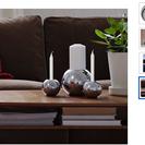 IKEA キャンドルとキャンドルホ...