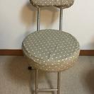 折りたためる椅子2個