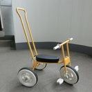 無印良品 三輪車 イエロー