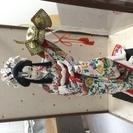 和テイストのお人形です(*˘︶˘*).。.:*♡