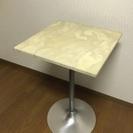 【アンティーク】大理石調テーブル【北欧風】