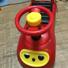 【中古】部屋の中で乗るクルマのおもちゃ