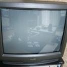 シャープ25型ブラウン管テレビ