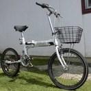 ARUN20インチ折りたたみ中古自転車 外装6段変速
