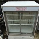 サンヨー冷蔵ショーケース キャスター付 1996年