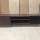 ◆◇モダンな部屋にぴったり?!引き取り限定 0円ブラウン色 テレビボード