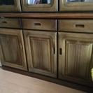 木製の棚を差し上げます。(9/29リミット、10/1粗大ごみにして...