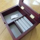 木製ジュエリーボックス 新品・未使用品
