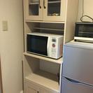 電子レンジラック兼食器棚