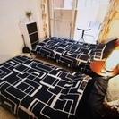 【民泊セット:2~3人宿泊可能なセットです。一部屋分の家具・電化製...