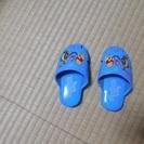 プーさん笛付サンダル(スリッパ?) 14センチ ほぼ未使用