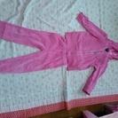 ピンクの上下(パーカー&ズボン)