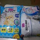 未開封・猫用トイレに流せる固まる紙砂