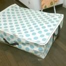圧縮袋付き 布団収納 布団ケース ドット 水玉