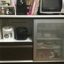 ⚫︎交渉中⚫︎【中古】ニトリ キッチンボード(レンジボード、食器棚)