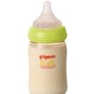 【中古品】母乳実感 哺乳びん(プラスチック製)160ml、難あり