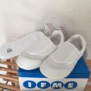新品 IFME 上靴 ホワイト 19.5センチ