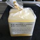 ラベンダーの香り  キャンドル