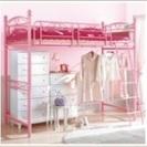 ピンクのロフトベット
