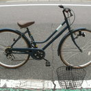 本日値下げ 新古品 自転車26インチ シマノ製外装6段変速装着