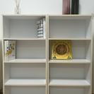 【取引中】本棚2つセット 中古品 白 カラーボックス
