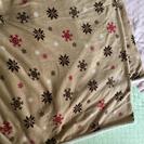 【交渉中】こたつ布団(190×190)