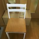 値下げ!!(今年五月5点セットで購入)ほぼ新品椅子x 2