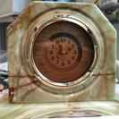 【商談中】重厚な大理石の置時計