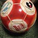 【プロのサイン入り】サッカーボール5号球