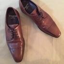 HILTONの革靴