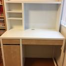 IKEA Micke イケア ミッケ デスク 学習机 ホワイト/バーチ色