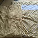 洗えるベビー布団ミニ、掛け布団2枚